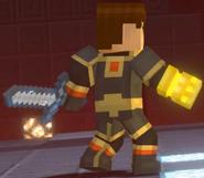Male Jesse wearing Adamantine Impervium with Golden Gauntlet9