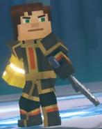 Male Jesse wearing Adamantine Impervium with Golden Gauntlet4