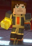 Male Jesse wearing Adamantine Impervium with Golden Gauntlet8
