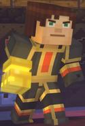 Male Jesse wearing Adamantine Impervium with Golden Gauntlet14