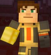 Male Jesse wearing Adamantine Impervium with Golden Gauntlet11