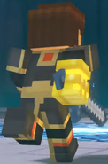 Male Jesse wearing Adamantine Impervium with Golden Gauntlet0