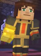 Male Jesse wearing Adamantine Impervium with Golden Gauntlet16
