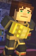 Male Jesse wearing Adamantine Impervium with Golden Gauntlet17