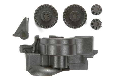 Reinforced Gears with Easy Locking Gear Cover