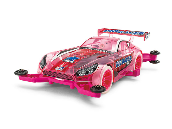 Mini 4WD Pig Racer GT