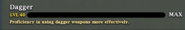 Dagger level 40