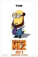 Tim Despicable Me 2 Minion Poster