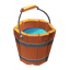 Water Wooden Bucket