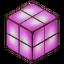Purple Glass Lamp