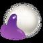 Purple Sticky Rice Ball