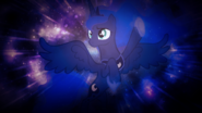 Luna in space by delta105-d4r318v