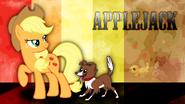 Applejackwallpaper by waranto-d4ezvmb