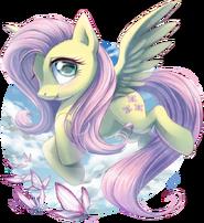 Fluttershy by draggincat-d6ool2n