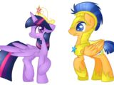 My Little Pony: Flaslight,Fluttermac,Raripants,Cheespie,Soarindash y Applemel