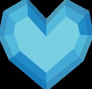 Crystal heart vector by ikonradx-d5kpm9s - copia