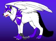 Darkness diamond wolf