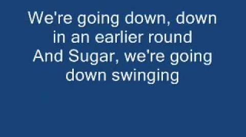 Fall Out Boy - Sugar We're Going Down With Lyrics! HQ