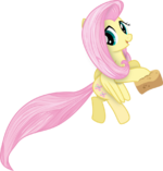 My little pony vector fluttershy in another style by krusiu42-d5tk8z0.png