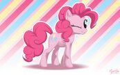 Pinkie pie wink wall by mysticalpha-d4c26fy