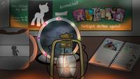 Dr. Whooves Investigates Portada