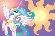 Princess celestia wallpaper by luuandherdraws-d4rpykr
