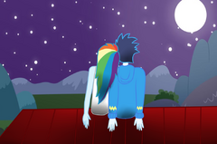 Mlp a beautiful night by rulette-d72z59c.png
