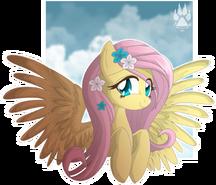 Animu fluttershy by nabbiekitty-d489v1w