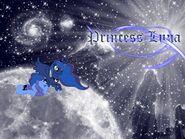 Luna and Woona Wallpaper