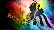 Rainbow monochrome grunge wallpaper by dignifiedjustice-d4jybi4