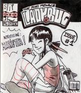 The Mini Menace Ladybug 1