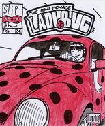 The Mini Menace Ladybug okładka