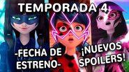 ¡ESTRENO 4TA TEMPORADA, NUEVO OPENING Y MÁS! Miraculous Ladybug-1