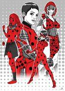 Dibujo Thomas Ladybugs