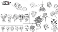 Chibi Miraculous Character Designs by Angie Nasca