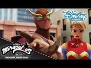 MIRACULOUS WORLD - ⭐ TRAILER - Las Aventuras de Ladybug en Nueva York 🗽- Disney Channel Trailer