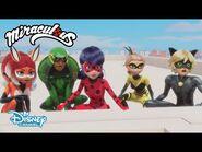 Hawk Moth y los villanos akumatizados - Miraculous secretos - Miraculous- Las aventuras de Ladybug