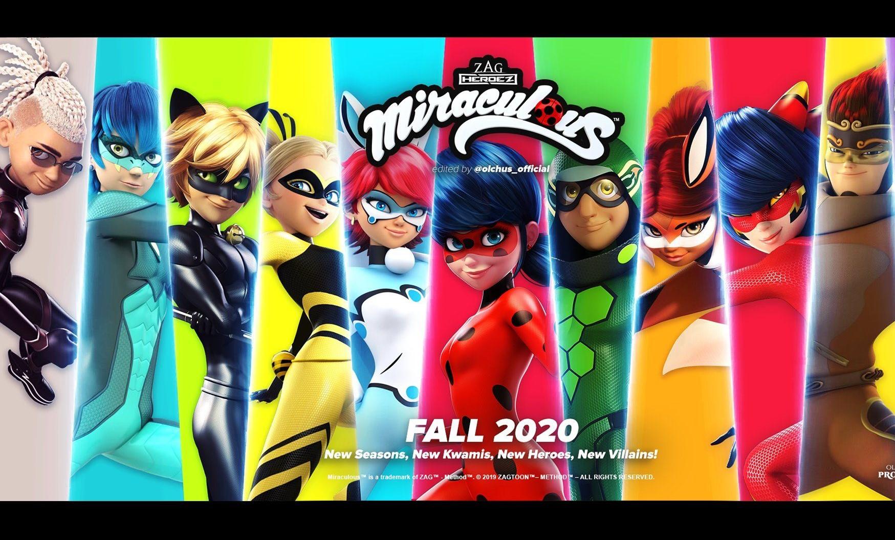 Equipo Francés de Superhéroes de Miraculous