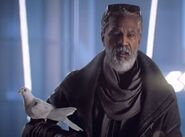Morgan Freeman in Mirror's Edge Catalyst