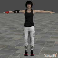 Mirrors edge faith render