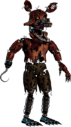 FNaF4 - Extra (Nightmare Foxy)