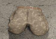 Tan camo cargo pants