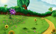 Magic Flower Background