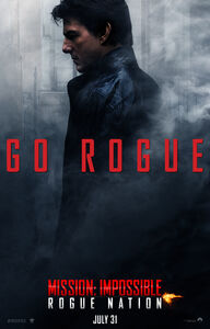 Mission Impossible Rogue Nation poster 2