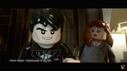 Lego Claire Phelps and Ethan Hunt Scene 1