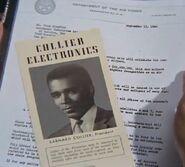 Barney Collier, dossier