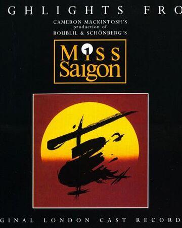 Original Cast Recording Miss Saigon Wiki Fandom