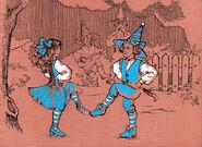 Танец у околицы