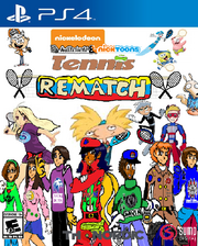 Mitchell and Nicktoons Tennis Rematch (PlayStation 4).png