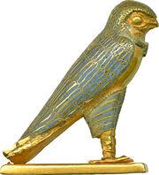 Egyptian - Figure of a Horus Falcon - Walters 571484 - Right.jpg